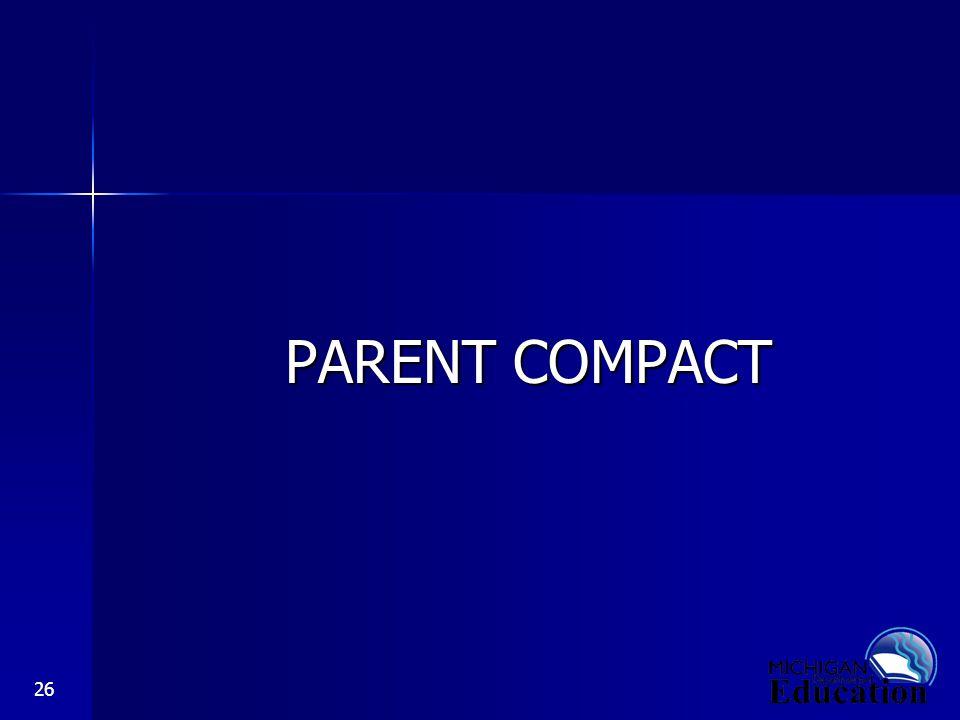 26 PARENT COMPACT