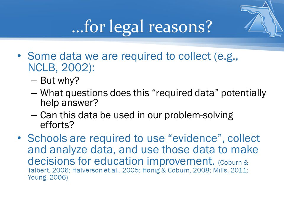 …to identify solutions to problems!!.