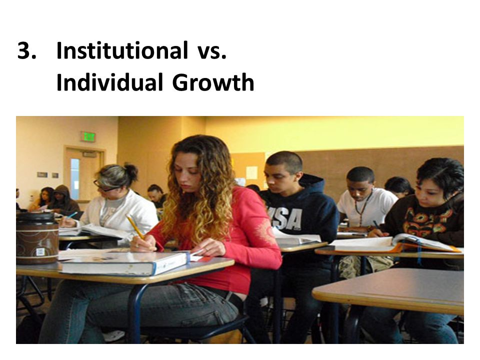 3.Institutional vs. Individual Growth