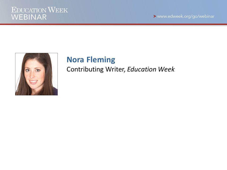 Nora Fleming Contributing Writer, Education Week