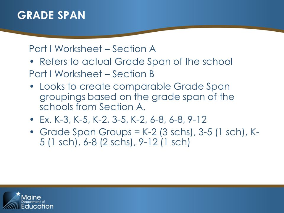 GROUP SIZE: SMALLER-LARGER-EXEMPT A school is Exempt in this process if it has less than 100 students.