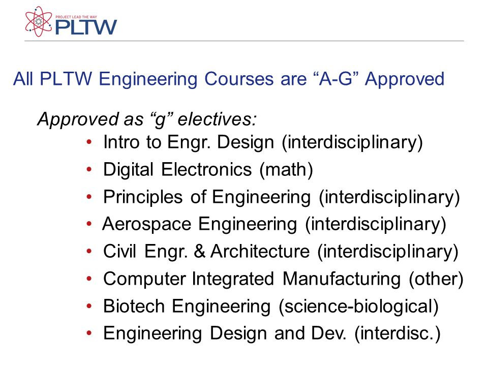 Approved as f , Visual & Performing Art: Introduction to Design Optional approval for modified version of IED.