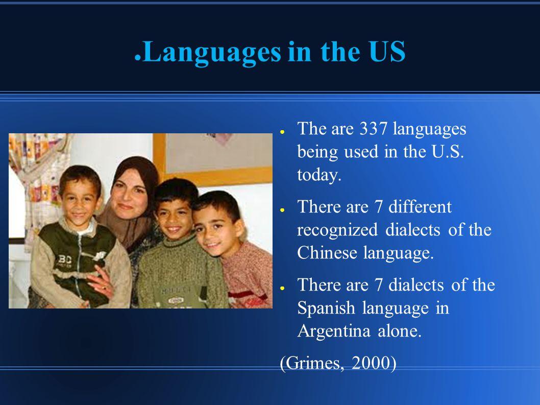 ● Standards 1.Language – acquisition & development 2.