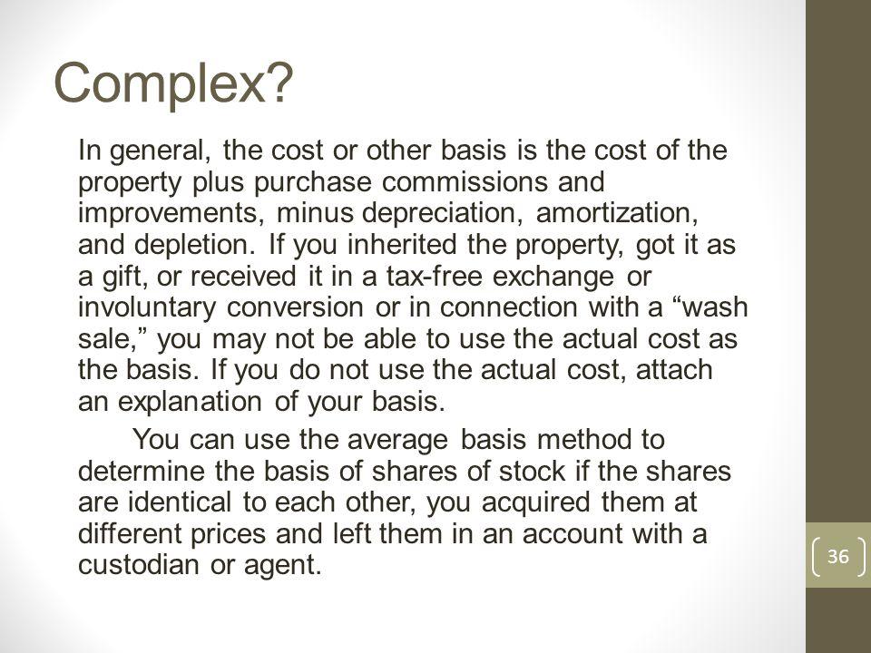 Complex.