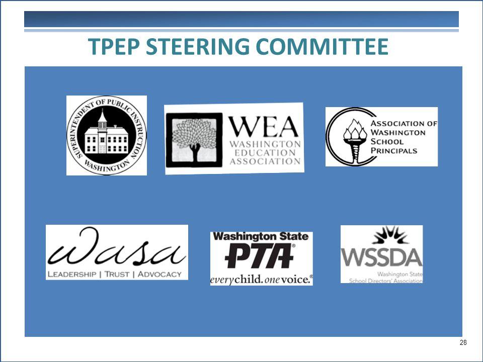 TPEP STEERING COMMITTEE 28