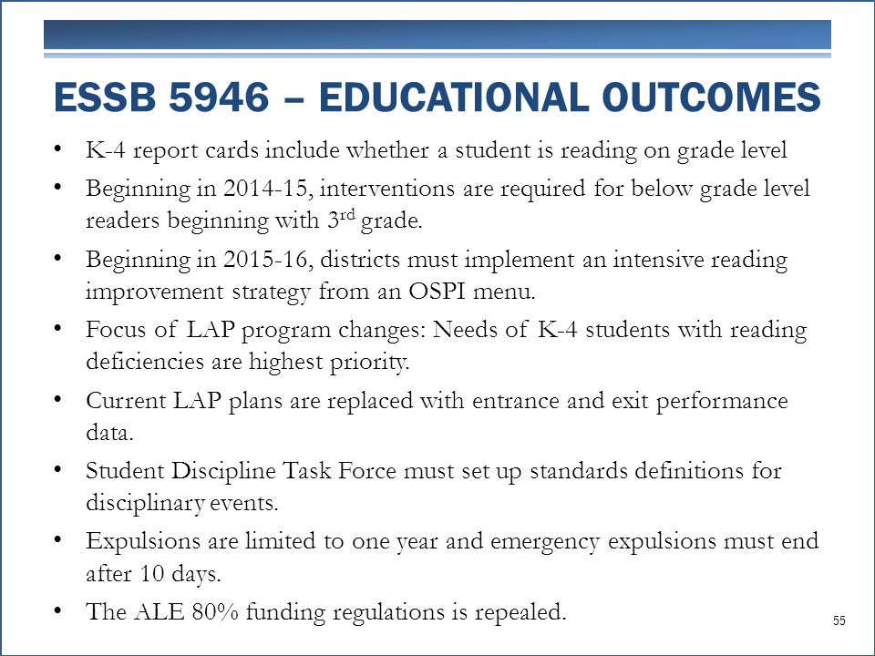 K-4 report cards include whether a student is reading on grade level Beginning in 2014-15, interventions are required for below grade level readers be