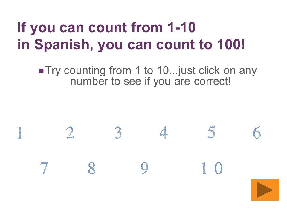 + Los Números 0 – 100 en Español