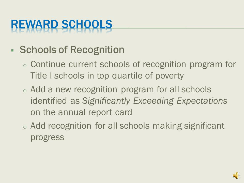 Note: Labels, in combination with comprehensive report cards, are intended to provide schools with information that will guide local improvement efforts and inform state intervention planning.
