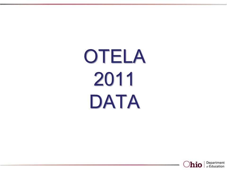 OTELA 2011 DATA