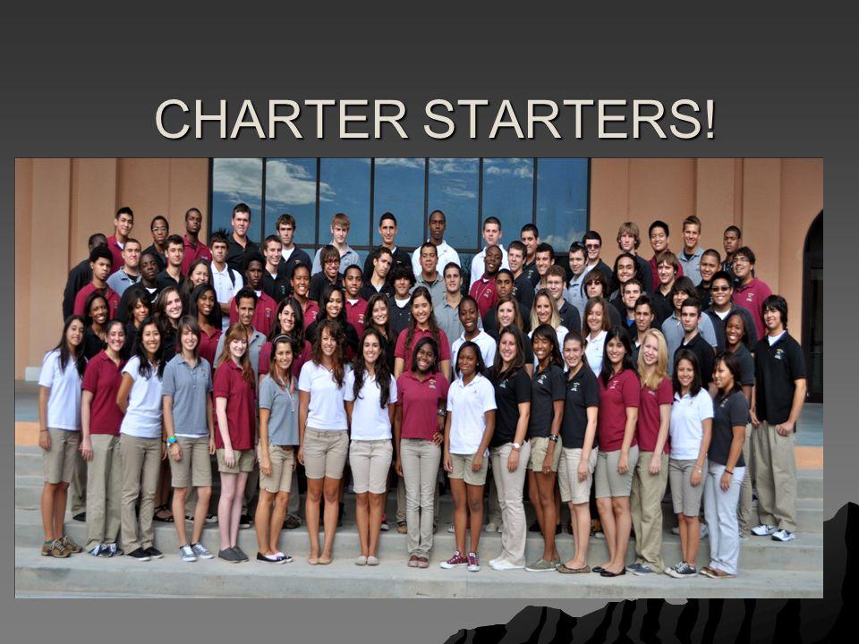 CHARTER STARTERS!