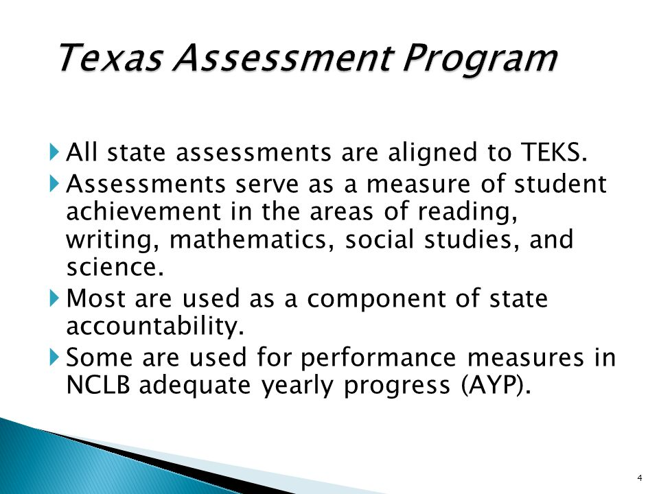 Classroom TEKS-based formative assessment Quality classroom instruction Classroom success for all Wider opportunities for future success in life Success on TEKS-based assessments for all students And lead to 35