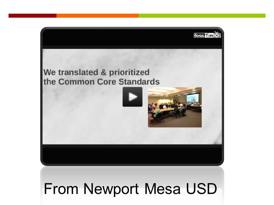 From Newport Mesa USD