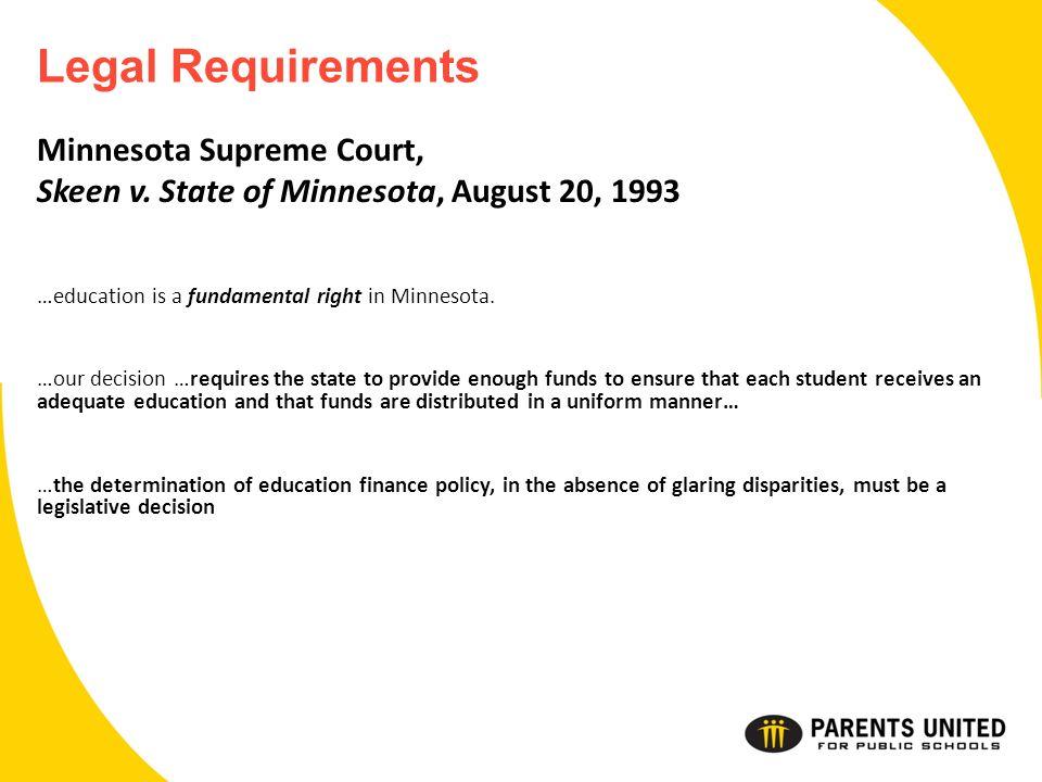 Minnesota Supreme Court, Skeen v.