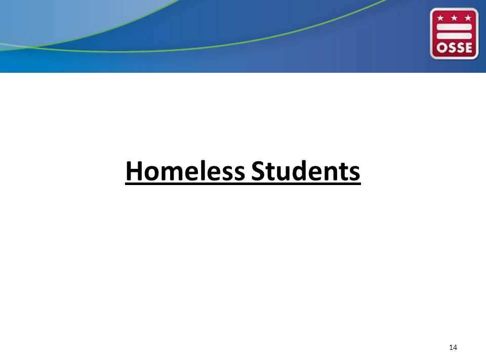 Homeless Students 14