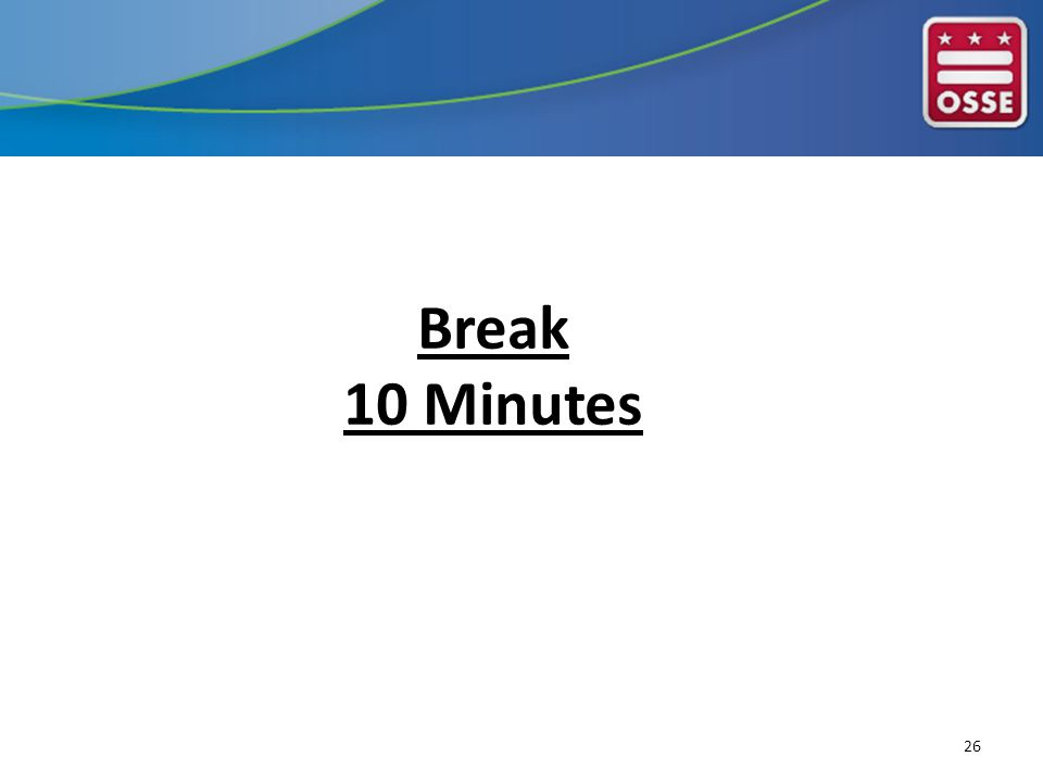 Break 10 Minutes 26
