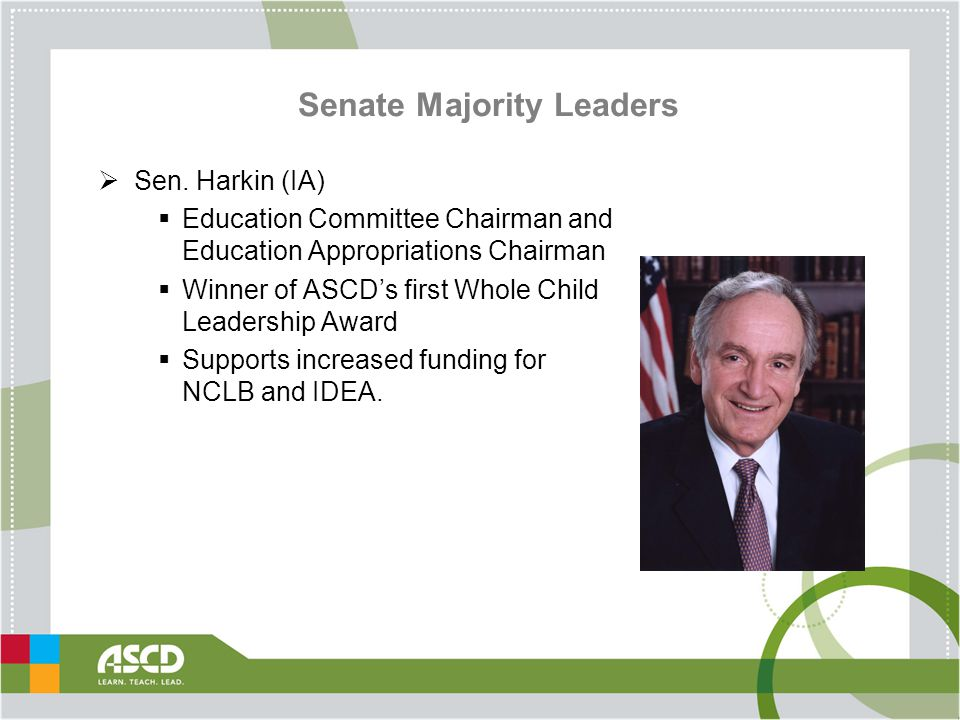 Senate Majority Leaders  Sen.