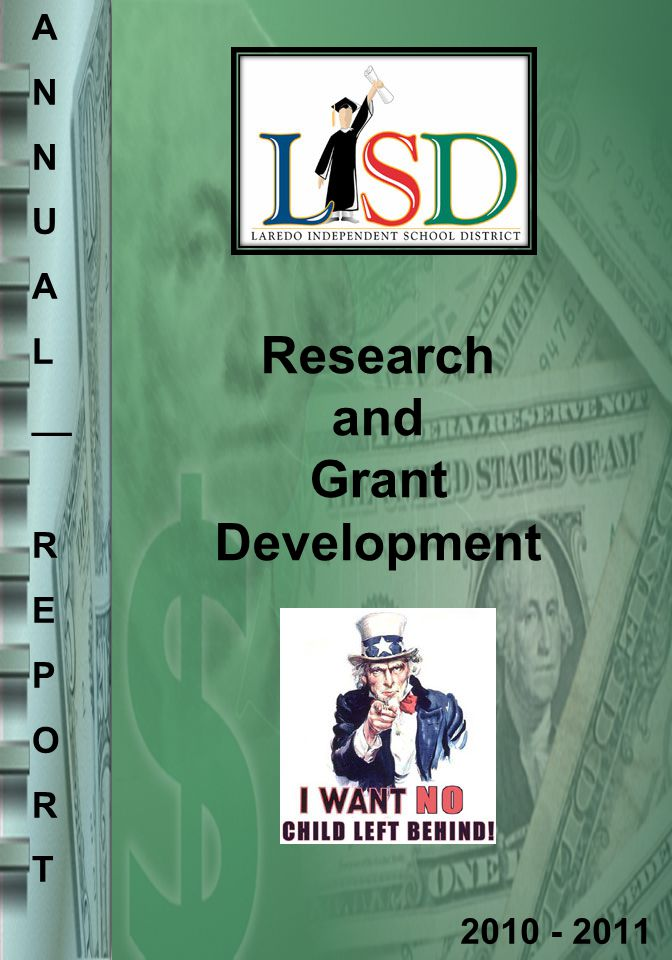 Research and Grant Development 2010 - 2011 A N U A L __ R E P O R T