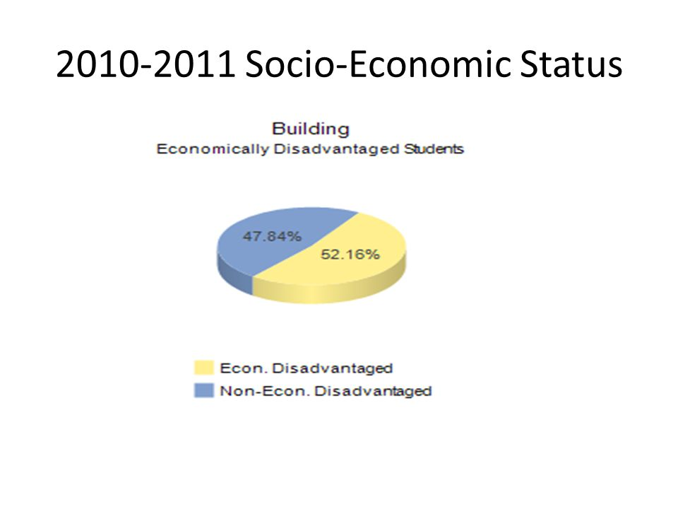 2010-2011 Socio-Economic Status
