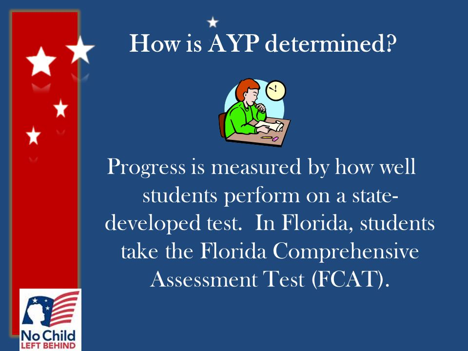 How is AYP determined.