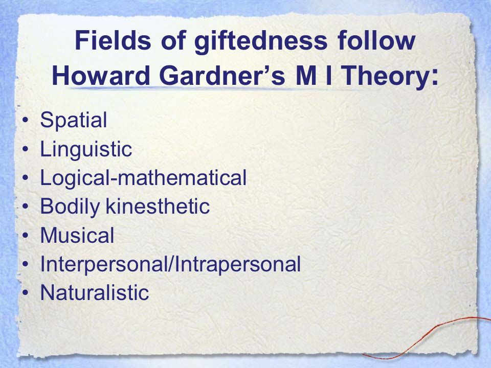 How does Technology Effect Gifted Students.