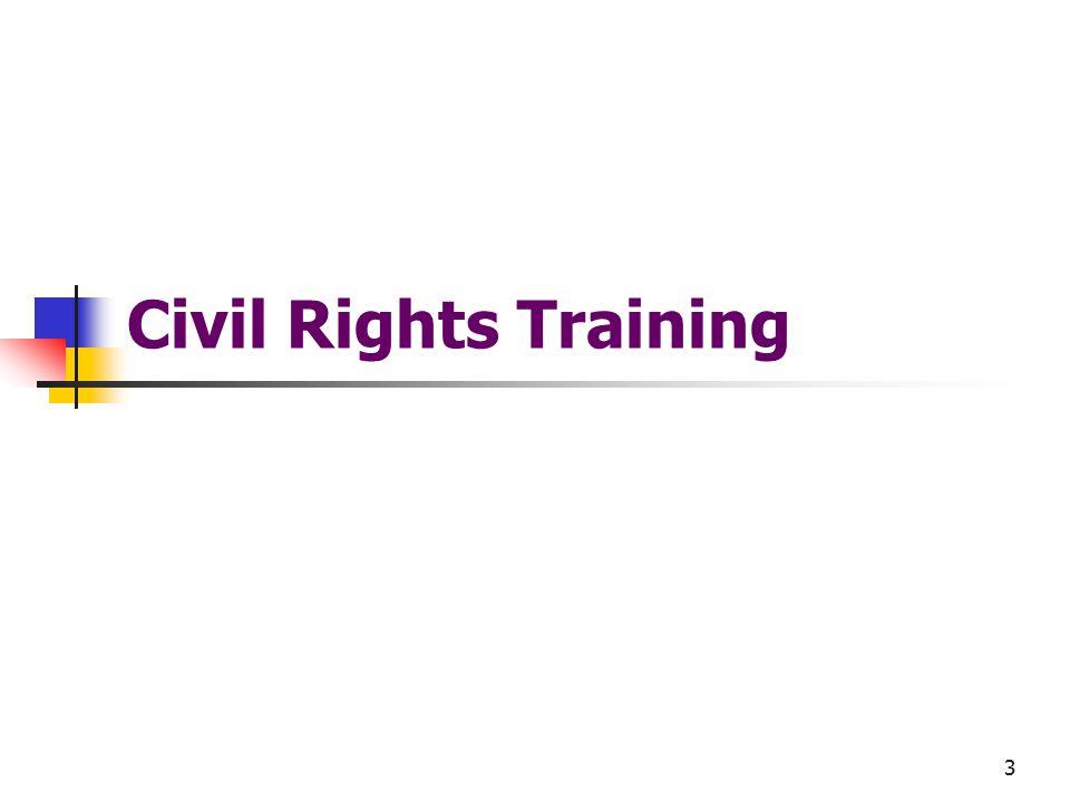 3 Civil Rights Training