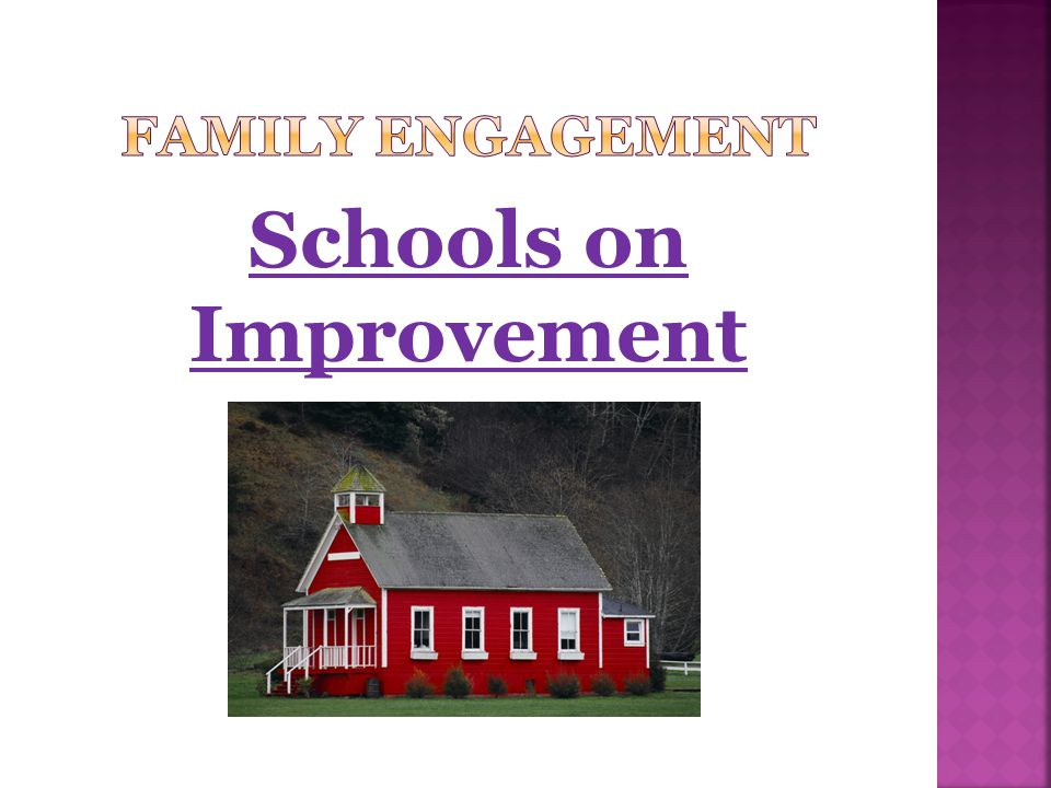 Schools on Improvement