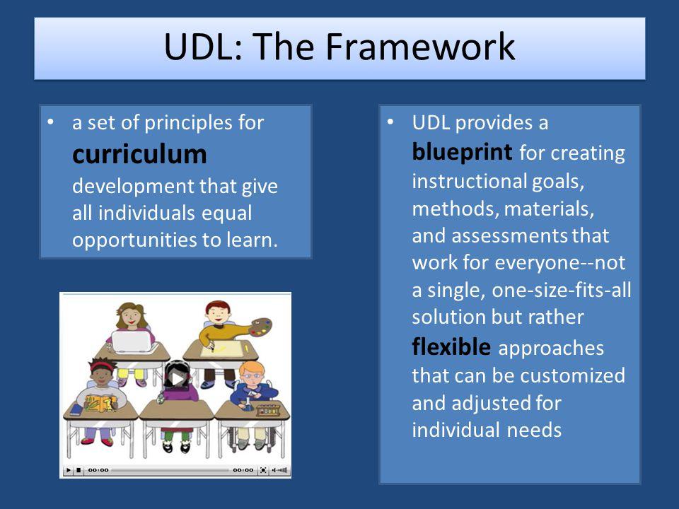 The UDL Framework