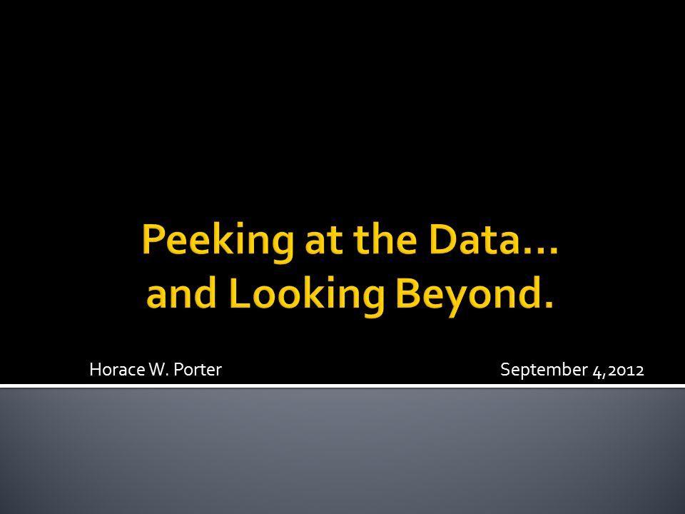 Horace W. Porter September 4,2012