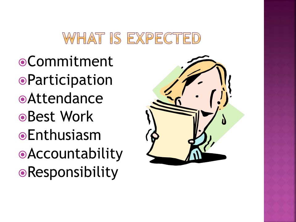  Commitment  Expertise  Best Education and Experiences  Enthusiasm