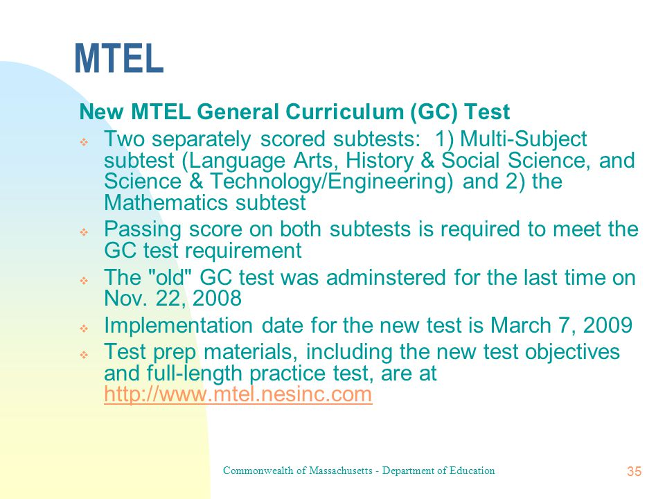 Commonwealth of Massachusetts - Department of Education 34 Vocational Technical License Renewal for Administrators.