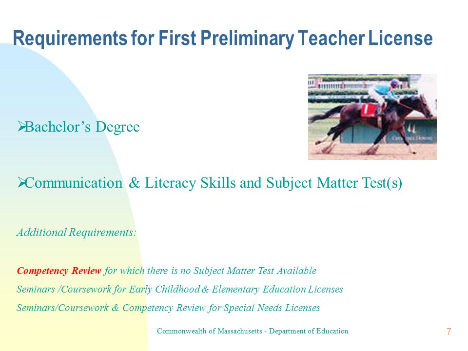 6 Grade Levels & Types Grade Levels can be thought of as the range of grades for which a given license is valid.