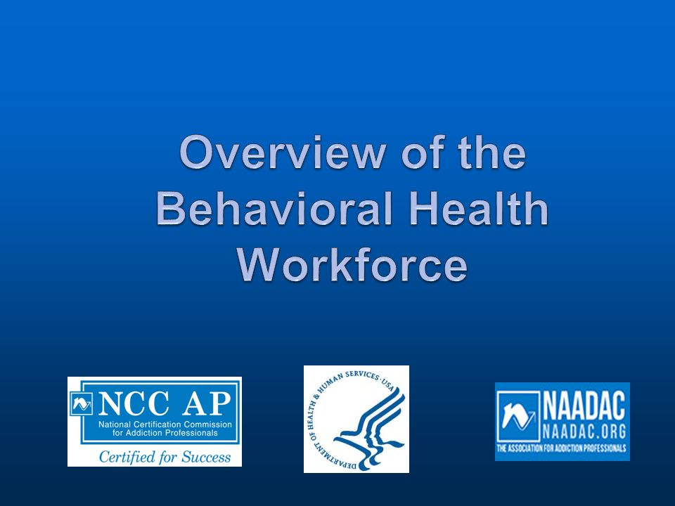 History of Certification  People working in the addiction counseling profession wanted their skills and knowledge to be acknowledged and obtain professional recognition for their work.