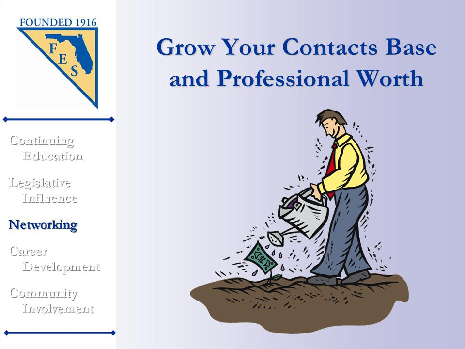 Grow Your Contacts Base and Professional Worth
