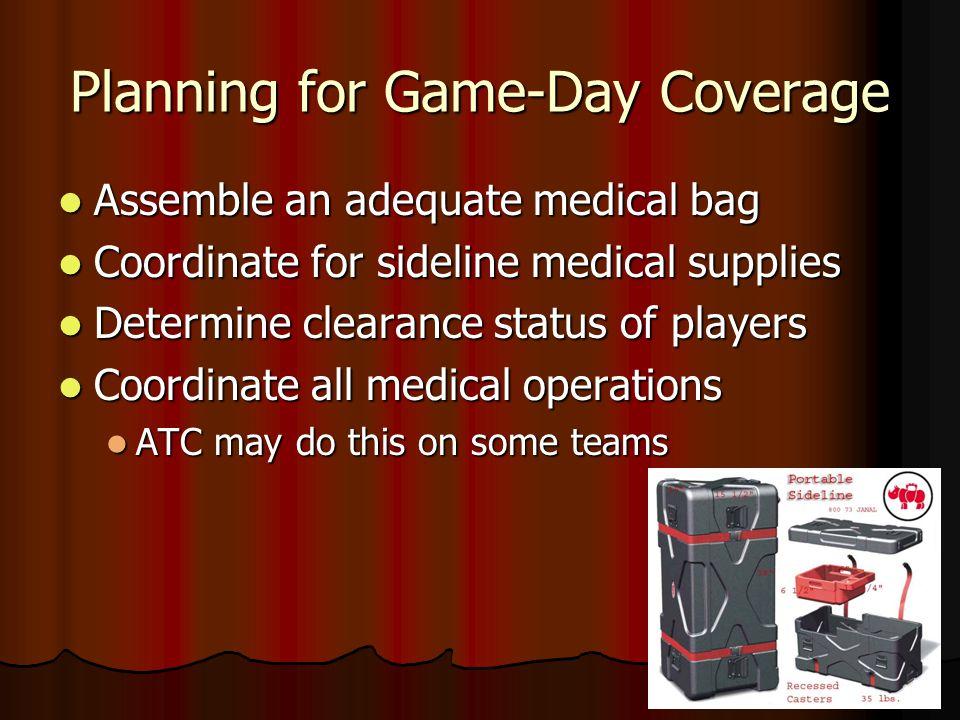 Pre-Season medical planning Preparticipation Physical Evaluation (PPE) plan Preparticipation Physical Evaluation (PPE) plan Policy for athletes' medic