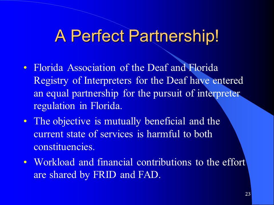 23 A Perfect Partnership.