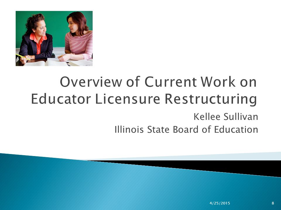 Kellee Sullivan Illinois State Board of Education 4/25/20158