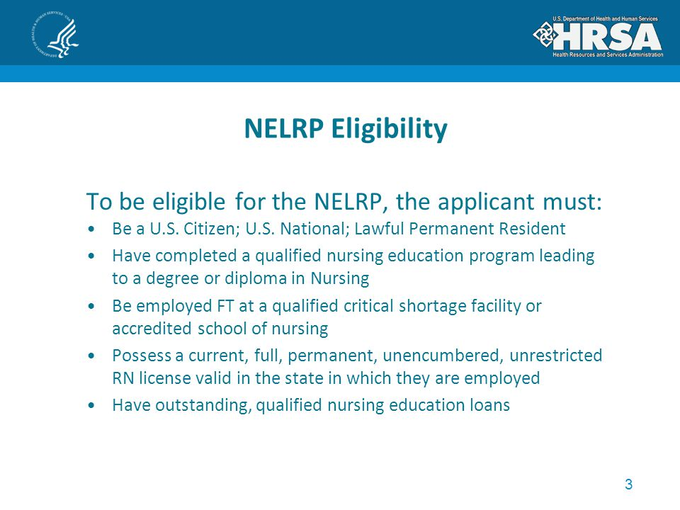 4 NELRP Funding Preference Insufficient funds to award all qualified applicants Sequential order determined by: Greatest Need - Debt/Salary Ratio Facility Preference Type Nurse Faculty – accredited educational institution Base (Preference 1): DSH; Critical Access Hospital; Nursing Home; State or Local Public Health or Human Services; Federally Designated Health Center (and Look- Alike); Indian Health Service Health Center; Native Hawaiian Health Center; Rural Health Clinic Historically – Preference 1 > 80%