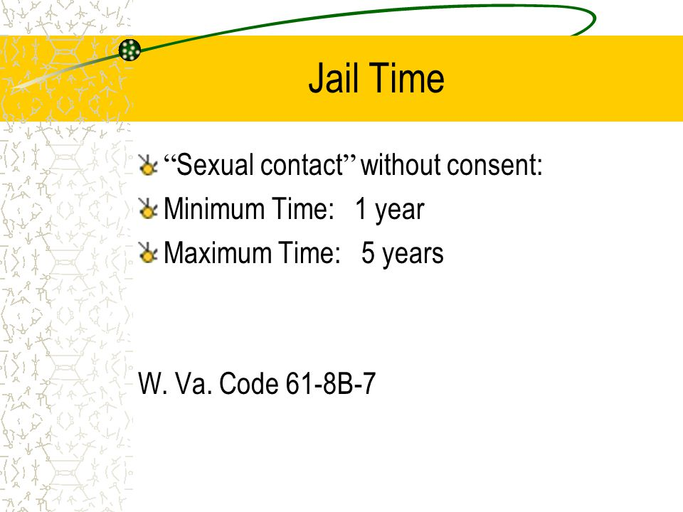 Criminal Law Definition of Sexual Contact Sexual contact means any intentional touching, either directly or through clothing, of the anus or any part of the sex organs of another person, or the breasts of a female … where the victim is not married to the actor and the touching is done for the purpose of gratifying the sexual desire of either party.