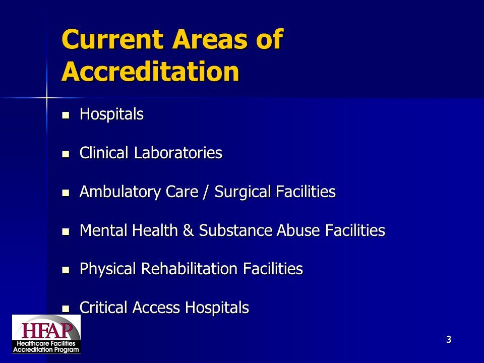 4 Government Recognition Deeming Authority from the Centers for Medicare and Medicaid Services (CMS):  Medicare Conditions of Participation for Hospitals, CAHs, and ASCs.
