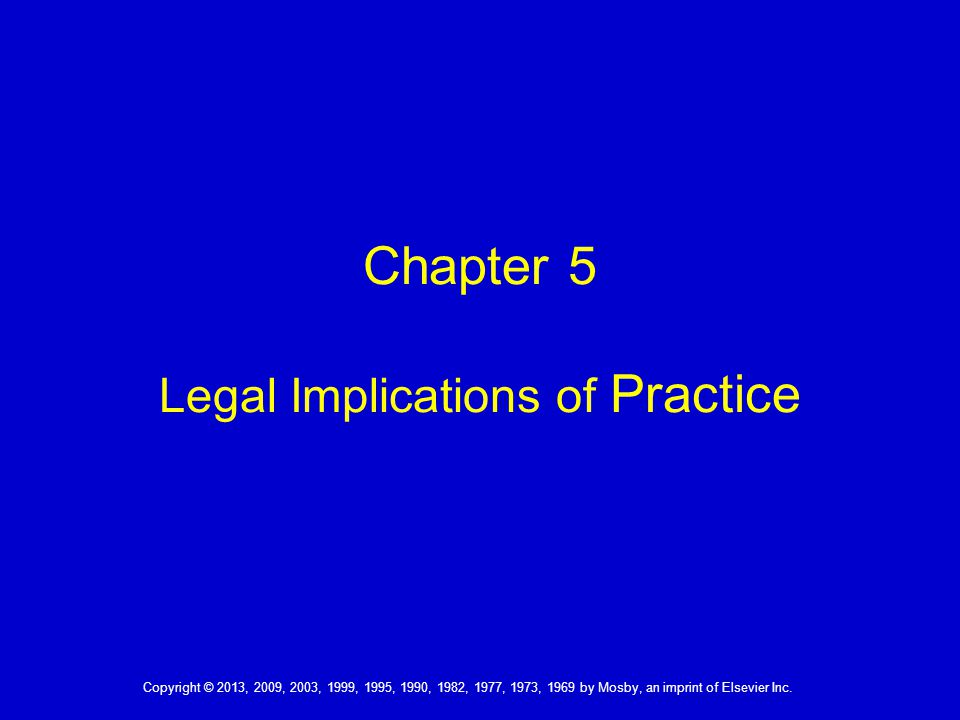 Copyright © 2013, 2009, 2003, 1999, 1995, 1990, 1982, 1977, 1973, 1969 by Mosby, an imprint of Elsevier Inc.