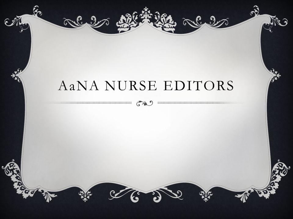 AaNA NURSE EDITORS