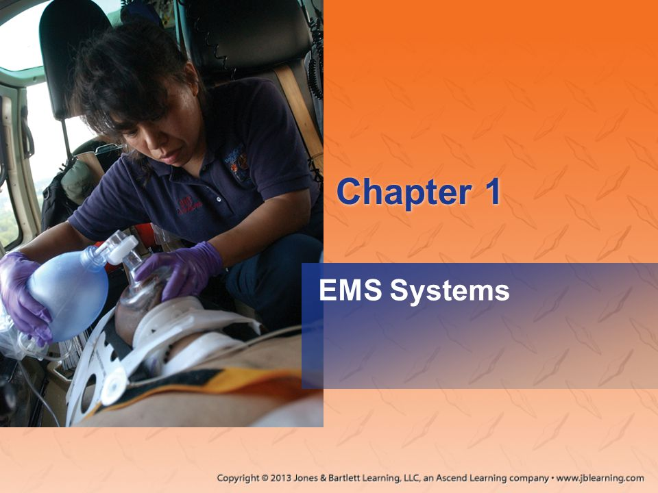 The 20th Century and Modern Technology 1969 –First true paramedic program –Standards for ambulance design and equipment 1970s –NREMT began Courtesy of Eugene L.