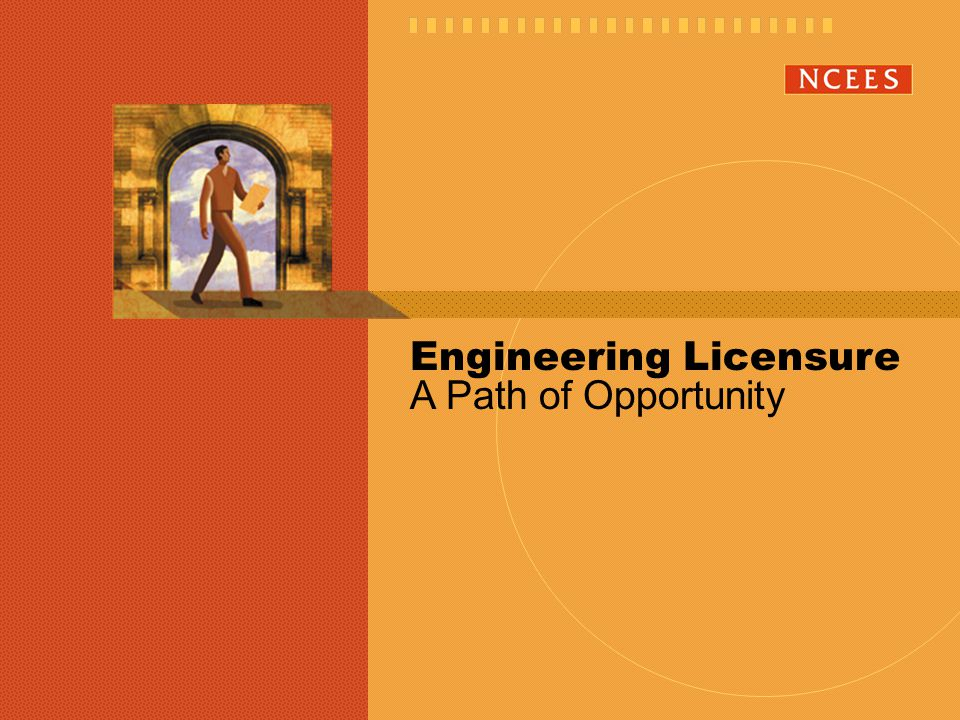 Graduate from an ABET-accredited Engineering Program