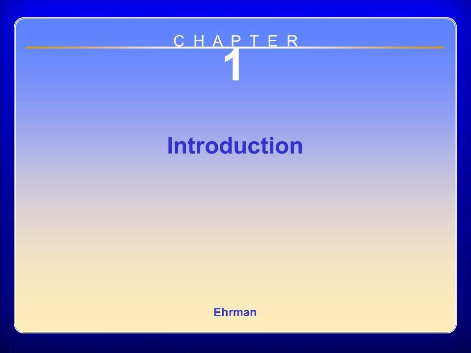 Chapter 01 1 Introduction Ehrman C H A P T E R