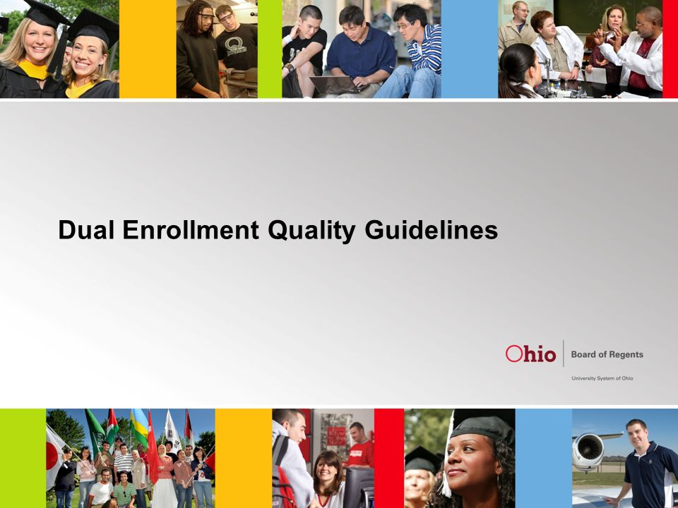 Dual Enrollment Quality Guidelines