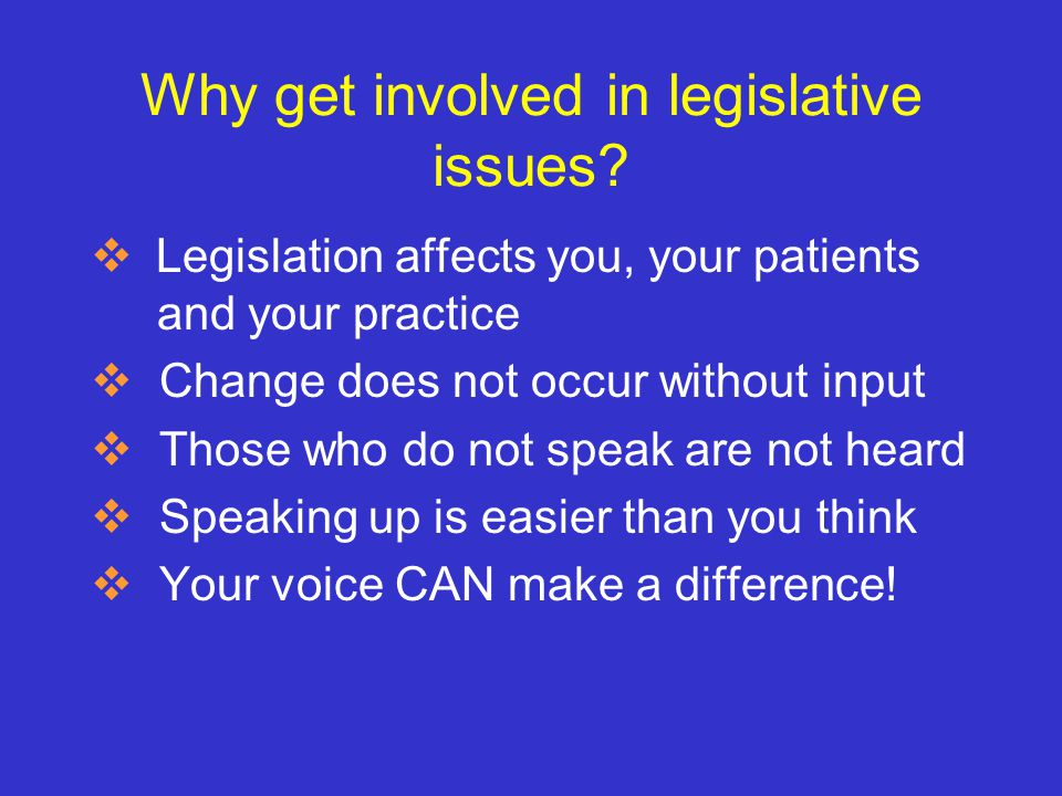 Successful PPTA legislative and regulatory activities in the past, include: PT Practice Act 1975 Sunset Legislation 1985 PTA Regulations Peer review regulations, worker's compensation, and motor vehicle insurance, 1990's Chiropractic lawsuit (generic use of the term Physical Therapy ) Direct Access 2002