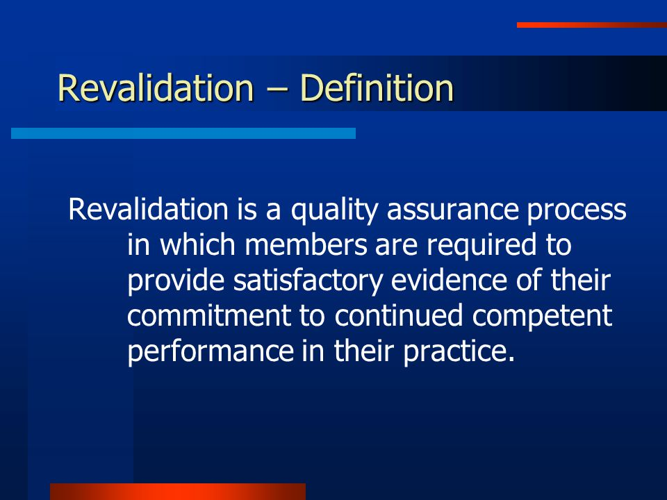 Revalidation: CPSBC 3.360° review with multisource feedback (e.g.