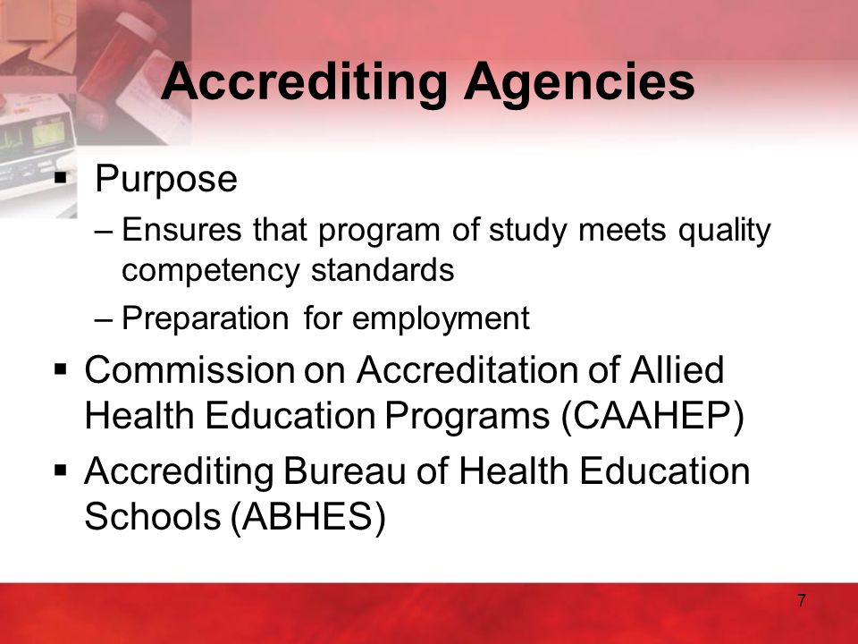 8 Continuing Education Units (CEUs)  Purpose –Required to renew license or maintain certification or registration –Ensures health care workers are informed on latest standards and technology  Requirements vary between careers & state