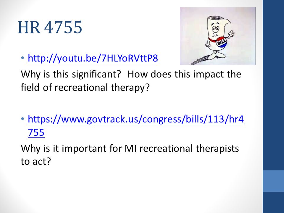 HR 4755 http://youtu.be/7HLYoRVttP8 Why is this significant.