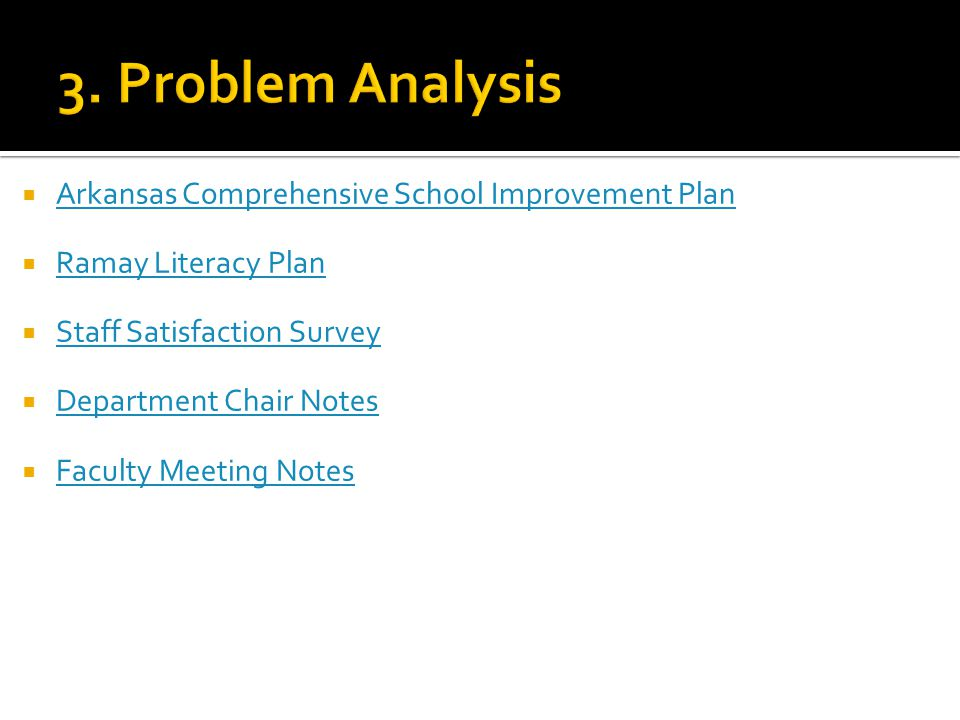  The Literacy Improvement plan is an internal plan to address our School Improvement - Year 1 status based on our previous 8th grade ACTAAP Literacy scores.